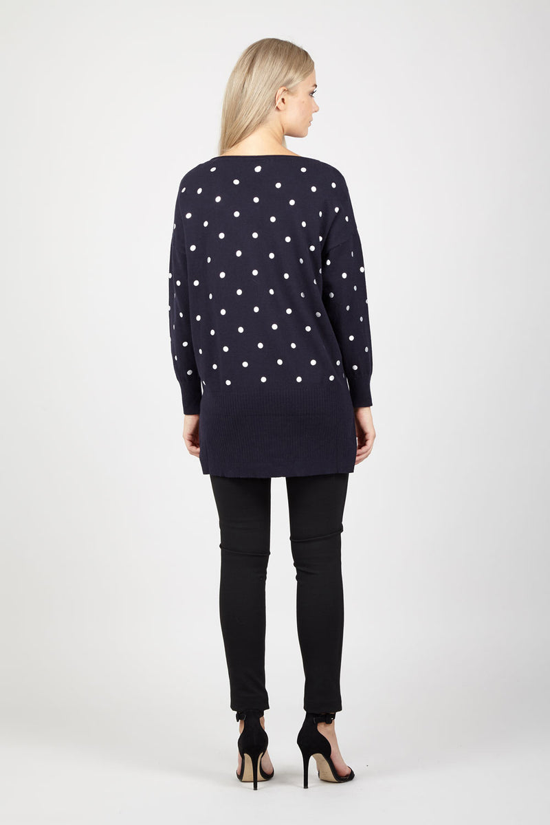 Polka Dot Jumper - Izabel London