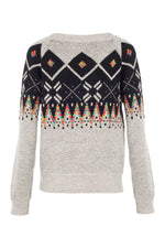 Festive Print Jumper - Izabel London