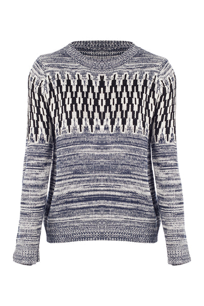 Aztec Marl Jumper - Izabel London