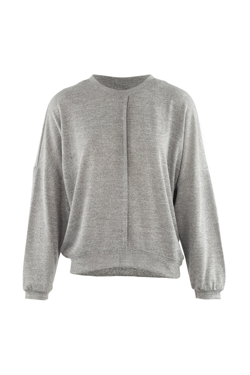 Light Grey | Front Panel Pullover