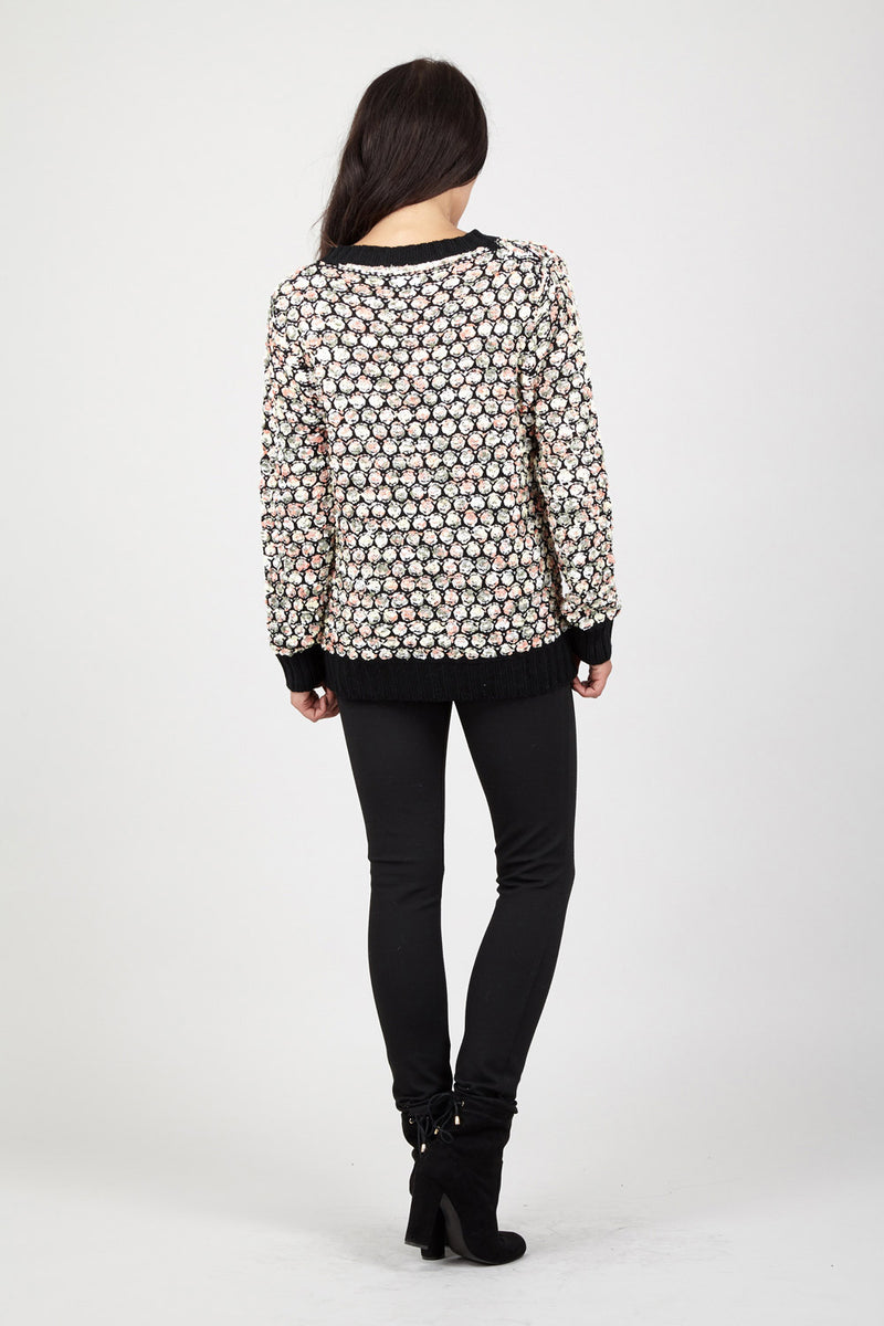 | Relaxed Knitted Jumper | Izabel London