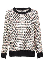 Relaxed Knitted Jumper - Izabel London