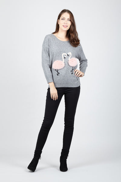 Flamingo Jumper - Izabel London