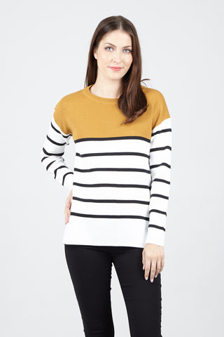 Curve Knitted Jersey Top