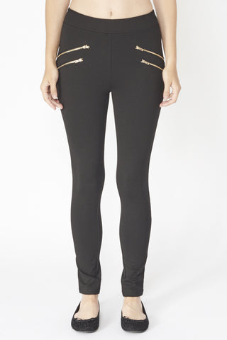 Skinny Zip Trouser