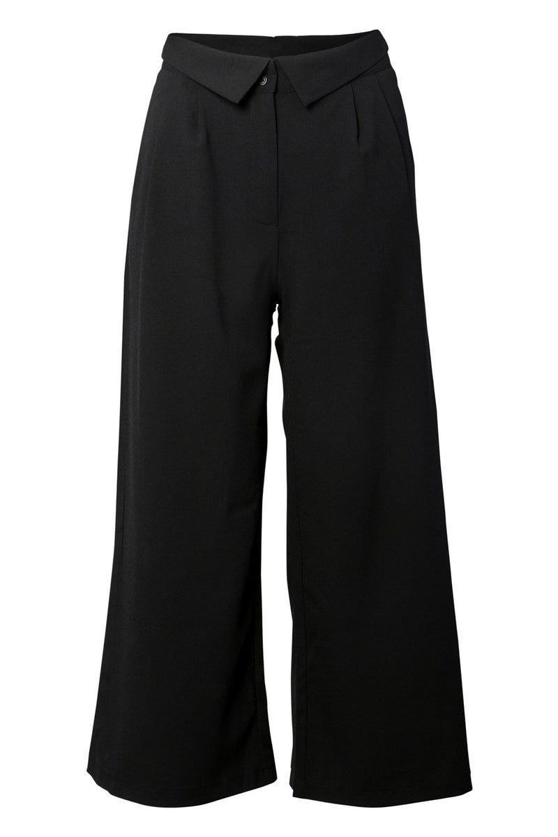 Wide Leg Trousers - Izabel London