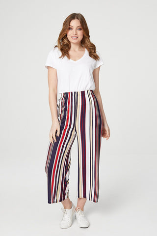 Dip Back Striped Top