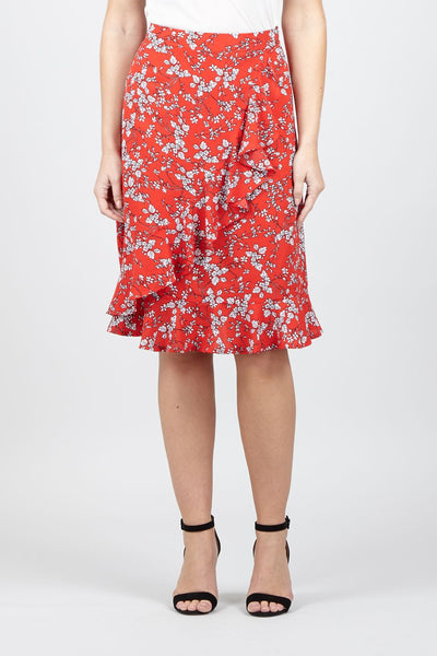 | Ditsy Floral Pephem Skirt | Izabel London