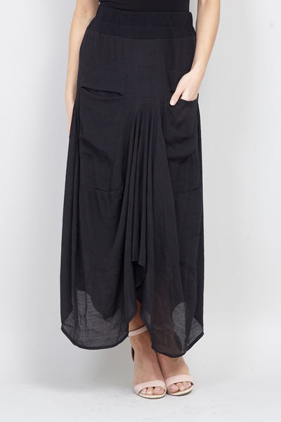 Floaty Sheer Skirt - Izabel London
