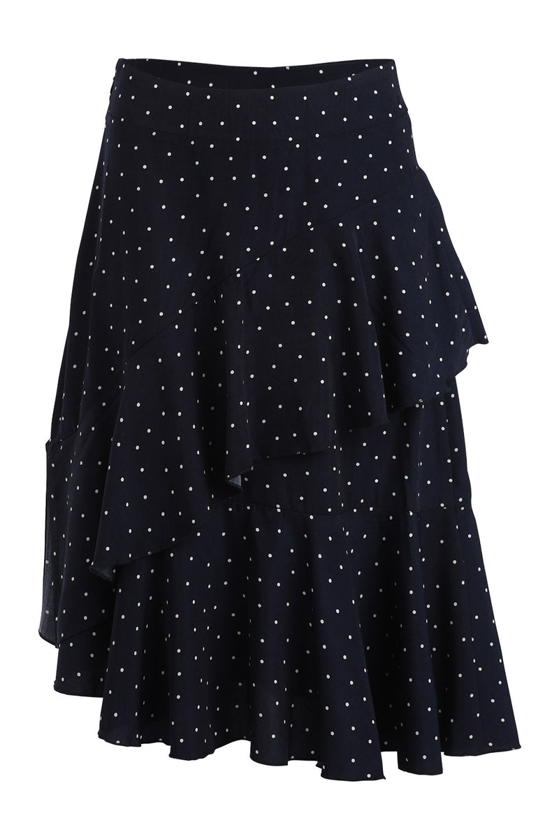 Polka Dot Salsa Skirt - Izabel London