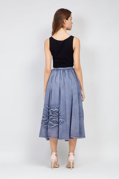 | Fit & Flare Midi Skirt | Izabel London