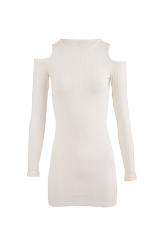 Cold Shoulder Jumper Dress