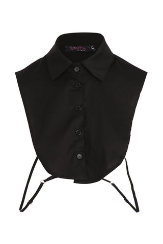Button Up Bib Top