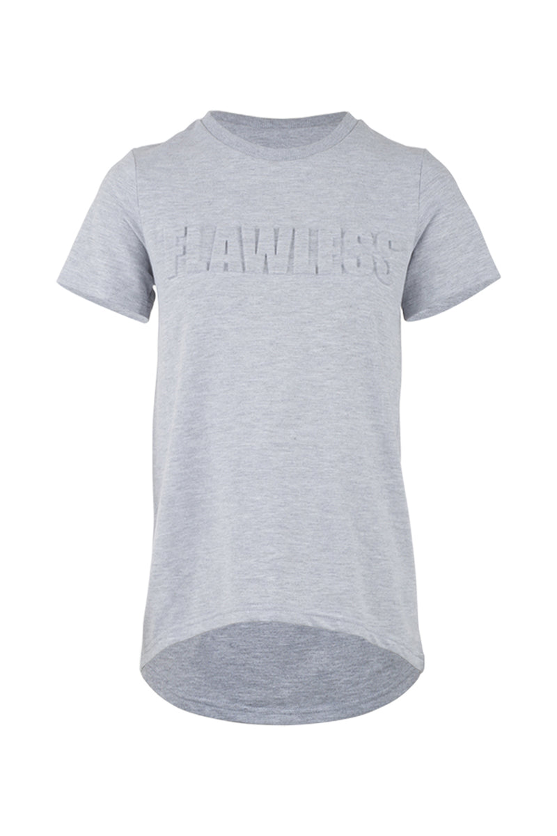 Grey | Flawless Slogan Tee