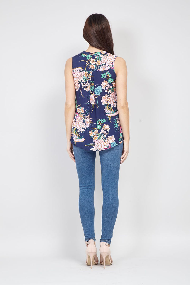 | Tropical Shell Top | Izabel London