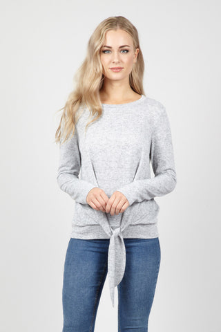 Layered Mesh Detail Pullover