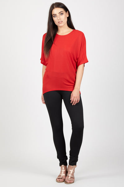 Batwing Casual Top - Izabel London
