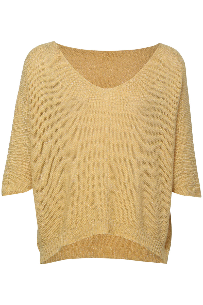 Yellow | Lightweight Knit Top