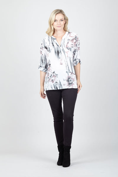 Floral Tunic Top - Izabel London