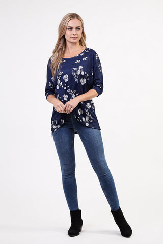 Batwing Casual Top