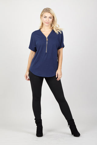 Appliqué Detail Tunic Top