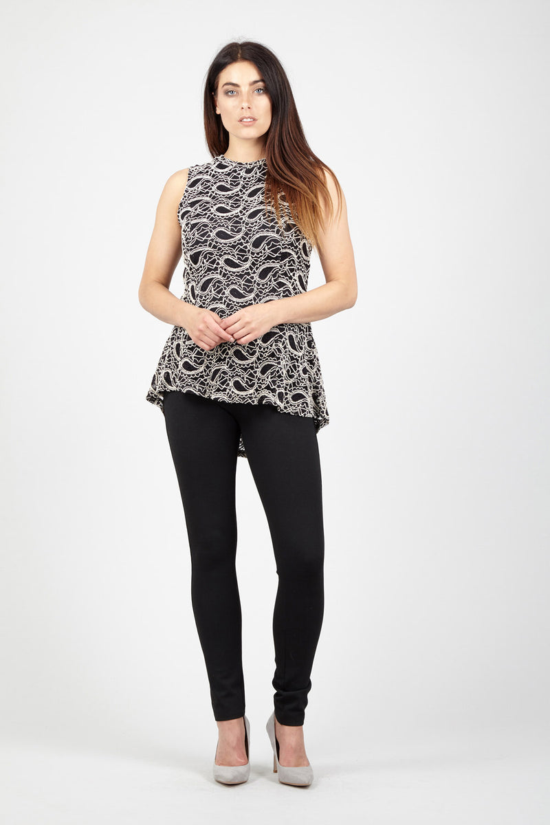 | Paisley Lace Top | Izabel London