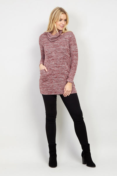 Roll Neck Jumper - Izabel London