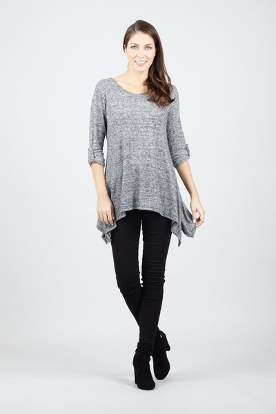 Hanky Hem Top - Izabel London