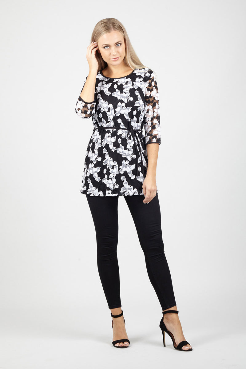 Butterfly Tunic Top - Izabel London