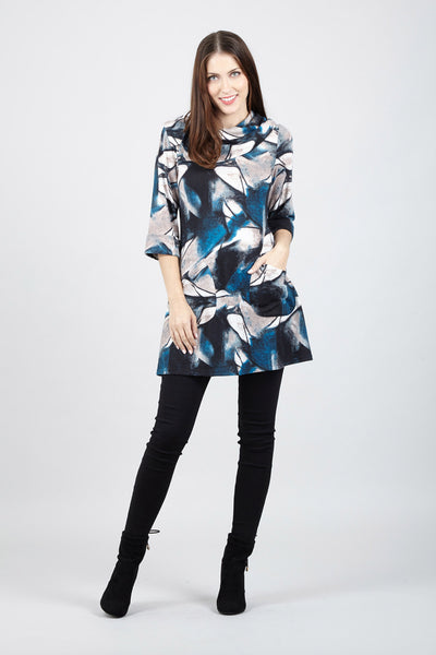 Abstract Tunic Top - Izabel London