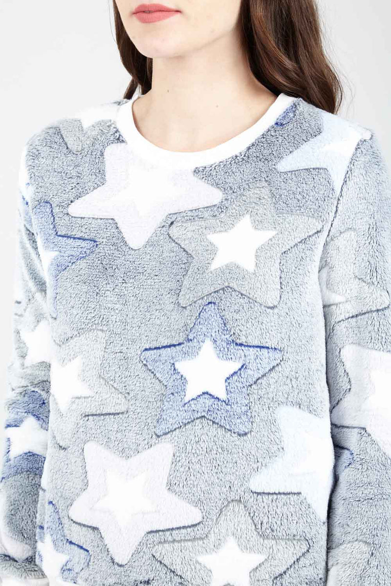 Star Pyjama Top - Izabel London