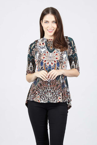 Mosaic Pephem Top