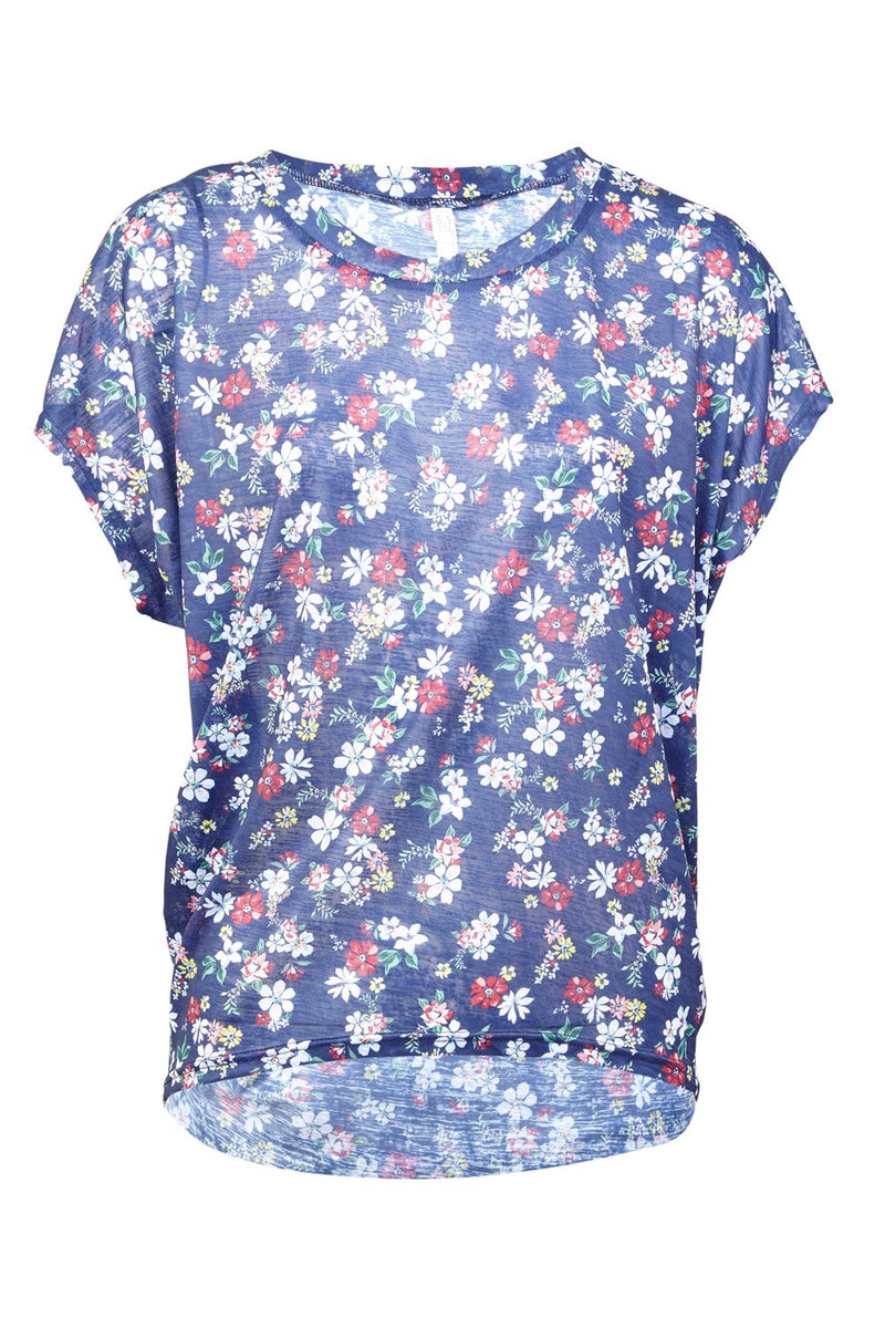 | Ditsy Floral Casual Tee | Izabel London