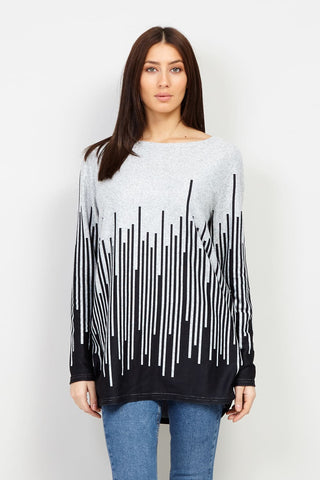 Pleated Jumper Top