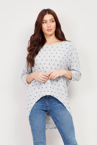 Dotty Knit Top