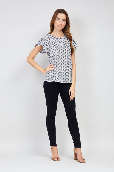 Ditsy Floral Tee - Izabel London