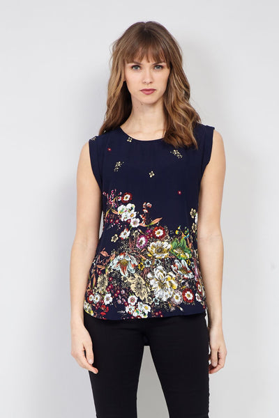 Botanical Floral T-Shirt - Izabel London
