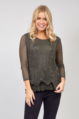 Knitted Roll Neck Top