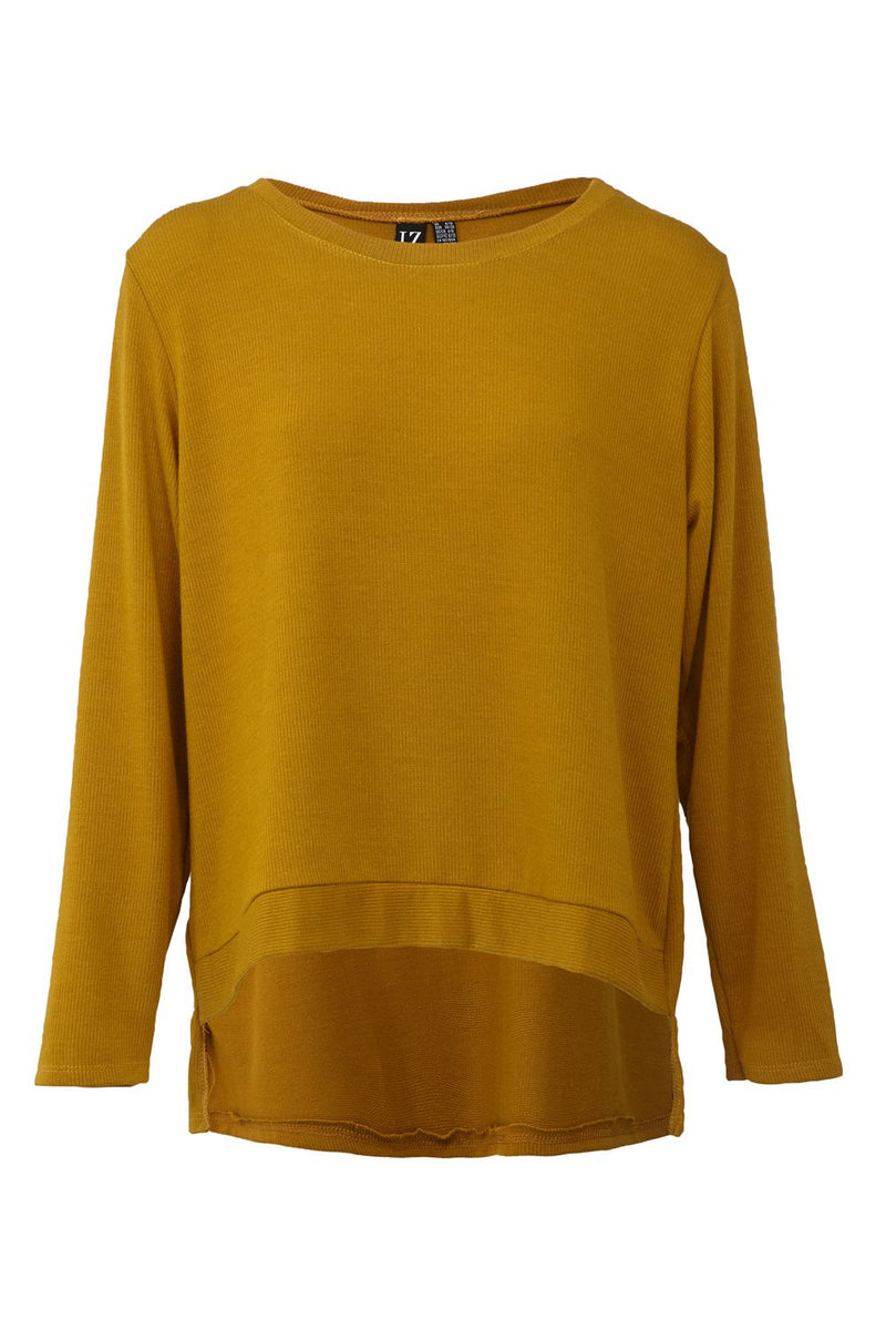 Yellow | Boxy Jumper