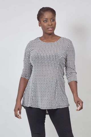 Ruched Waist Blouse