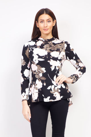 Dip Back Longline Top