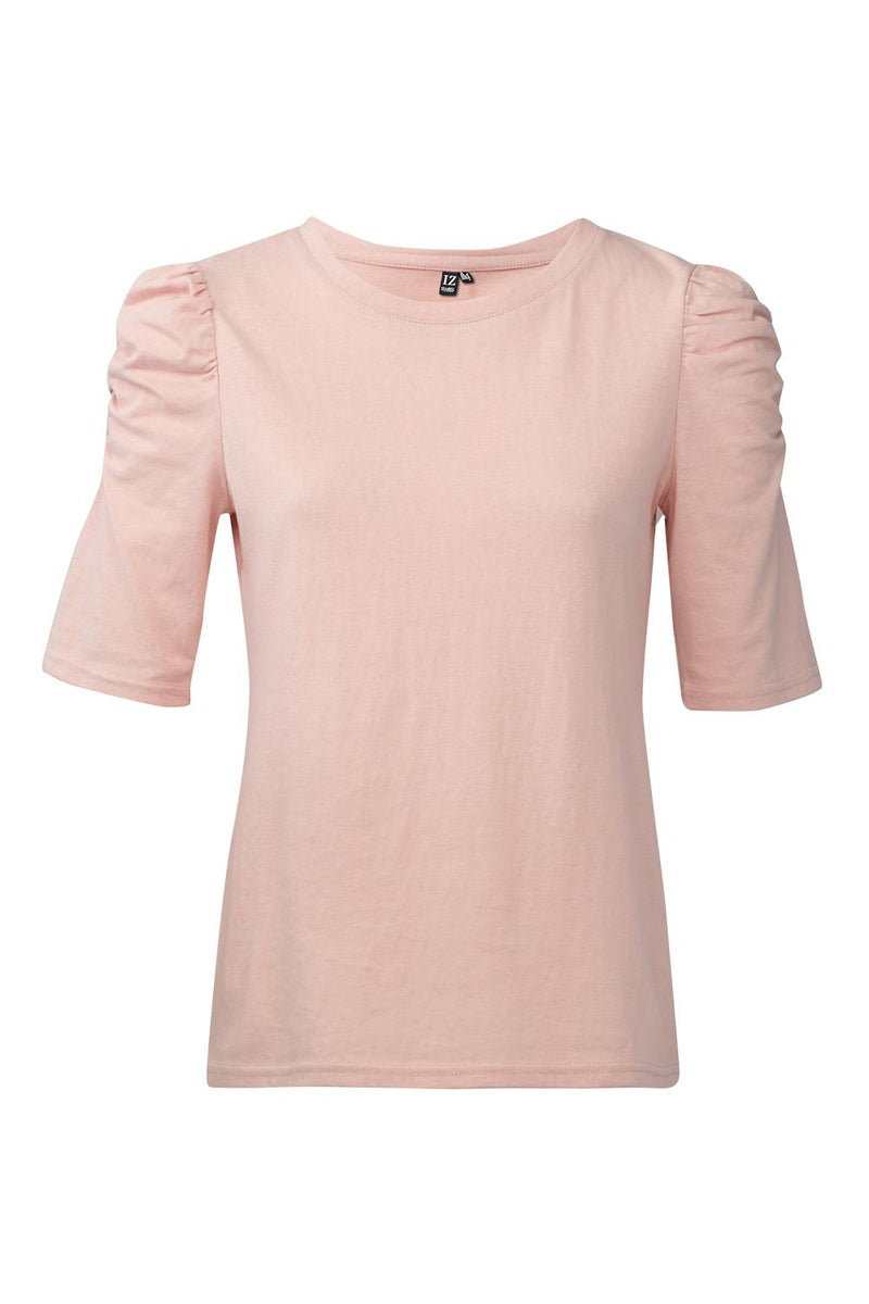 Pink | Ruffled Sleeve T-Shirt