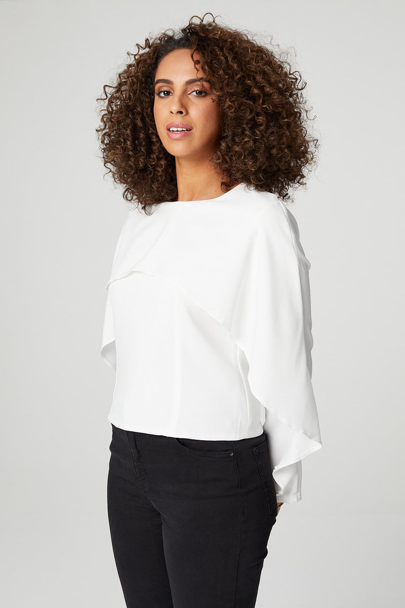 Ivory | Cape Feature Top