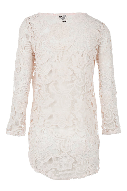 Floral Lace Top - Izabel London