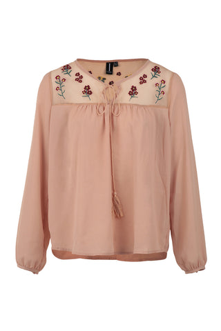 Embroidered Folk Top