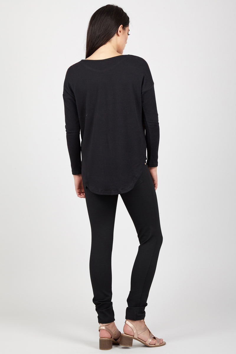 Animal & Marl Jumper - Izabel London