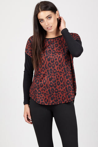 Plus Size Snake Print Vest Top