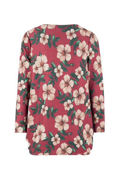 Floral Oversized Top - Izabel London
