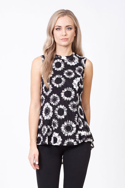 Daisy Peplum Top - Izabel London