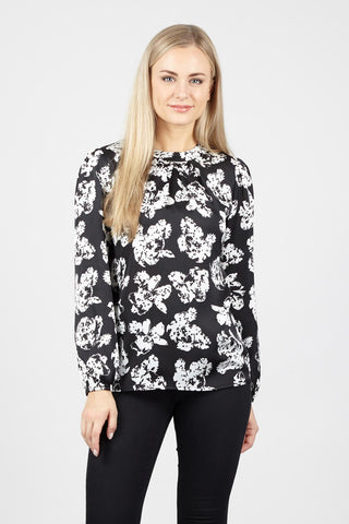 Floral Batwing Sleeve Top
